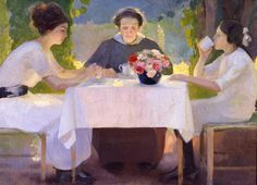 Bocchi Amedeo, La colazione del mattino (Galleria d'Arte Moderna Ricci Oddi, Piacenza) Difficile scegliere quale opera del museo pinnare.....