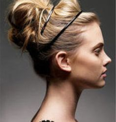 Cute Hairstyles For Straight Hair - Hair Styles Vane Easy Bun Hairstyles, Latest Hairstyles, Pretty Hairstyles, Holiday Hairstyles, Greek Hairstyles, Wedding Hairstyles, Medium Hairstyles, Wedding Updo, Formal Hairstyles