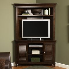 Corner Entertainment Center For Flat Screen Pictures