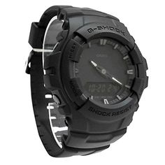 adf8c612e08 Casio G-shock Men's Black Out Series Analog Digital watch G Shock Watches  Mens,