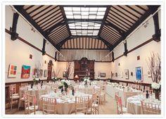 Glasgow Art Club wedding reception