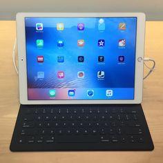 Kävin räplää iPad Pro:ta Apple Storessa. Voi kuinka älytön vehje! iOS ei vaan istu tollasiin pinta-aloihin. #tembustravels