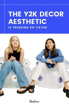 There's no denying it: the '90s are back, and the y2k decor aesthetic is trending all over social media. Here, find a breakdown of the retro aesthetic, where the trend comes from, and of course, products to shop the look. #2000s #Y2k #decor Brace Yourself, Lip Shapes, Indie Room, Sequin Mini Skirts, 2000s Fashion, Retro Aesthetic, Get The Look, Color Trends, Minimalist Fashion