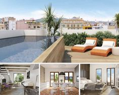 A state of the art penthouse apartment, with stunning rooftop terrace and jacuzzi right in the middle of Barcelona.