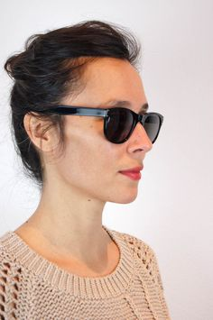 selima optique at una portland (but mostly that sweater by tess giberson)