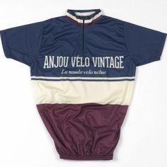 maillot cycliste anjou velo vintage Anjou Velo Vintage, Fur Vintage, Vintage Bicycles, Cycling, Bike, Cool Stuff, Sports, Inspiration, Style