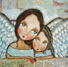 2 Angels by Patti Ballard  http://fineartamerica.com/featured/two-angels-patti-ballard.html