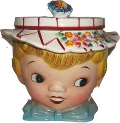 I grew up with this one, Mom still has it! vintage cookie jars - Google Search