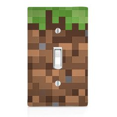 Light Switch Cover  Minecraft inspired Pixel by SwitchCoverSupply