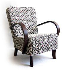 Křeslo po babičce - RETRONAUT Doll Furniture, Armchair, Chairs, Sofa, Weddings, Design, Home Decor, Furniture, Sofa Chair