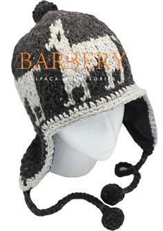 This very cozy earflaps hat can be custom made, just for you! Choose your very own colors.  Nice and warm PURE ALPACA natural fiber, knitted by hand goodness! More details: info@barberyalpaca.com