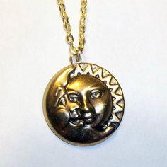 Celestial Sun & Moon Necklace | elfsacks