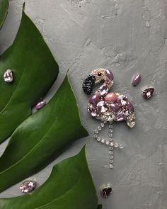В такую погоду 😱☁️🌨❄️ держите милейшего фламинго🌸💘 Брошка в наличии 💖 #disigner #disign #moscow #handmade_ru_jewellery #handmadeaccessories #handmade #handmadejewelry #handmadeaccessory #handmadeaccessories #handmade_ru_jewellery