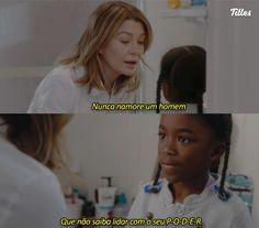 Grey's Anatomy, Greys Anatomy Frases, Cristina Yang, Feminist Quotes, We Can Do It, Sad Girl, Women Empowerment, Beautiful Day, Girl Power