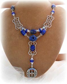 Goddess Bridgid necklace Bridgids cross  by SpellboundOriginalz