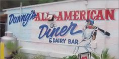 Dannys All-American Diner and Dairy Bar     4406 N. Falkenburg Rd. Tampa, FL 33610 reservations: 813-740-0606