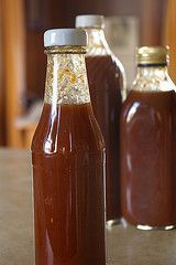SWEET TENNESSEE BBQ SAUCE (over 40 yrs old) (Yield: 2 1/2 c) ==Ingredients== - 2 c ketchup, - 1/2 c brown sugar, - 6 T lemon juice, - 1 t vinegar, - 3 T molasses, - 1 t liquid smoke, - 2 t dry mustard (or 1 T prepared mustard), - 1 T Worcestershire sauce, - 1 t onion powder, - 1/2 t garlic powder, - 1/2 t black pepper ====