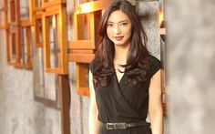 Lataa kuva Nadia Saphira, 4k, indonesialainen näyttelijä, kauneus, ruskeaverikkö