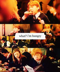 If I went to Hogwarts, my favorite thing would be the food