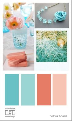 beach wedding color schemes