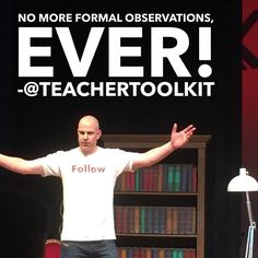 If only this was the case for every #teacher! #NoFormalObs #ukedchat #edchat #school #Education #observation