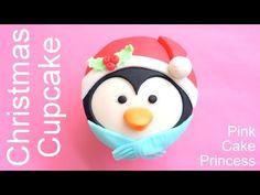 Christmas Cupcakes - How to Make Santa Claus Cupcake by Pink Cake Princess - YouTube