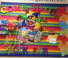 Today's creation for our upcoming book fair! Tons of fun to do! The theme is obviously Fiesta! Olé!!!
