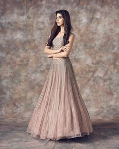 Sarah - Festive collection by mrunalinirao . Beautiful gray color lehenga and blouse with hand embroidery work. Buy Designer Collection Online : Call/ WhatsApp us on : Party Wear Lehenga, Bridal Lehenga Choli, Indian Lehenga, Indian Wedding Outfits, Indian Outfits, Indian Designer Outfits, Designer Dresses, Lehnga Dress, Lehenga Style