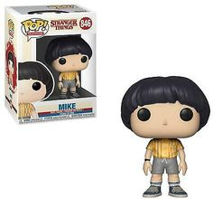 TV: Stranger Things - Mike From Stranger Things, Mike, as a stylized POP vinyl from Funko! Figure stands 3 inches and comes in a window display Stranger Things Merchandise, Stranger Things Funko Pop, Stranger Things Characters, Stranger Things Season 3, Stranger Things Stuff, Funk Pop, Pop Vinyl Figures, Jackson 5, Rocky Horror Picture Show