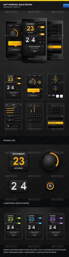 Soft Interface: Black Edition