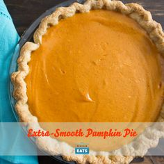 The addition of cream cheese makes this version of pumpkin pie extra ...