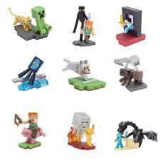 Minecraft <b>Figures</b> Toys 8set/lot <b>Hot Sale</b> Model Game Juguetes ...
