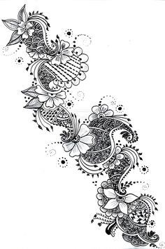#Henna #Tattoo #Design