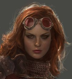 Beautiful MAGIC THE GATHERING Art - Chandra Nalaar: Ignite Your Spark - News - GeekTyrant