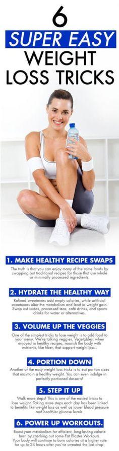 6 Super Easy Weight Loss Tricks – Medi Idea