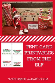 Elf Letters, Santa Letter, Templates Printable Free, Printable Cards, The Elf, Elf On The Shelf, Hot Cocoa Printable, Christmas Sunday School Lessons, Message Of Encouragement