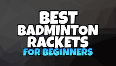 By going through this article it will become easier for you to choose the best badminton rackets for beginners for yourself. At Home Workout Plan, At Home Workouts, Best Badminton Racket, Mood Quotes, Life Quotes, Some Love Quotes, Health And Fitness Expo, Tv Set Design, Salad With Sweet Potato