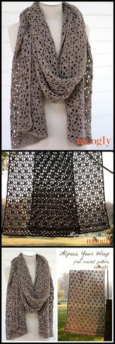 Crochet Wrap Pattern ~ Check Out Make More Guidelines About attractive 42 Pics Crochet Wrap Pattern Pertaining to Particular 100 Free Crochet Shawl Patterns Free Crochet Patterns with Crochet Wrap Pattern Chat Crochet, Crochet Shawl Free, Crochet Wrap Pattern, Crochet Video, Crochet Gratis, Quick Crochet, Crochet Shawls And Wraps, Crochet Scarves, Crochet Clothes