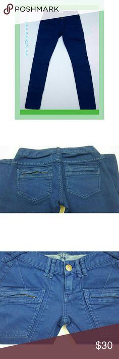 Free People skinny jeans Gently used skinny jeans.  Size 24. Free People Jeans Skinny