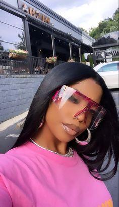 Pretty Black Girls, Black Is Beautiful, Beautiful People, Gorgeous Hair, Pretty Woman, Pretty People, Beautiful Women, Black Girl Aesthetic, Girl Gang Aesthetic