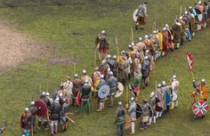 Saxons v. Vikings - the crucial battle for York of 866 AD.