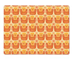 Sun Bird repeat large magnetic board design by Beyond the Fridge