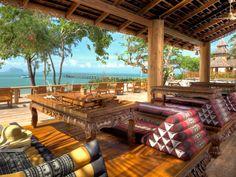Eco-luxury resort located alongside a beautiful white sand beach. Santhiya Koh Yao Yai Resort Spa, Thailand www.islandescapes.com.au