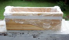 How to Line a Wooden Soap Mold for Cold Process Soap