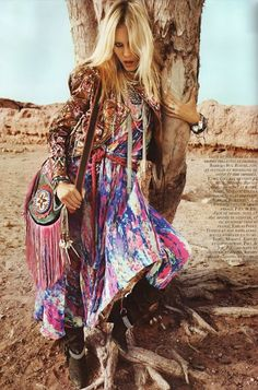 tribal fashion editorials | Jade Purple Brown: Fashion Editorials | Native Tribal Inspirations
