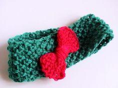 Bandeau en point de blé bébé fille : Mode Bébé par creations-fait-main-divers