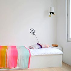 *~* pastels and neon! LOVE LOVE LOVE this blanket! // Making Pastels Zingy & Fresh! via decor8 blog