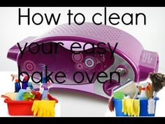 How to clean the outside and inside of your easy bake oven - YouTube #easybakeoven