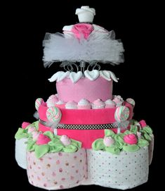 How to Make a Diaper Cake | How Make Diaper Cake Easy Video Instructions Pictures