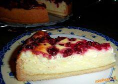 Tvarohovo-pudinkový koláč s višněmi Cheesecake, Cheesecakes, Cherry Cheesecake Shooters